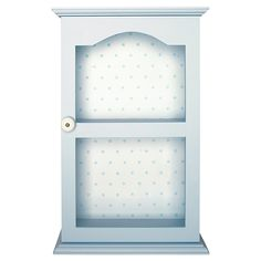 GreenGate Wooden Cupboard Blue 50 x 32 x 14,5 cm