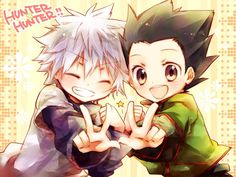 Hunter X Hunter - Gon and Killua :) They're my babies!!