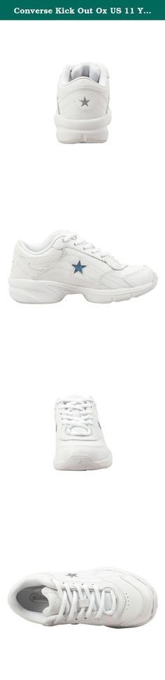 Converse Kick Out Ox US 11 Youth (White/White).