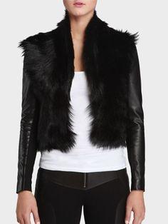 Bod & Christensen Fur Vest with Removable Sleeves