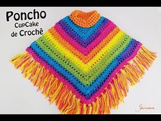 Best 12 Pink and Light Blue Crochet Kids Poncho – SkillOfKing. Crochet Girls Dress Pattern, Crochet Baby Pants, Crochet Flower Hat, Crochet Beanie Pattern, Crochet Patterns, Crochet Summer Dresses, Crochet Videos, Crochet For Kids, Crochet Designs