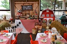Rustic Barnyard Party