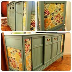 painted repurposed vintage stereo cabinet robinsnestrestorations ...