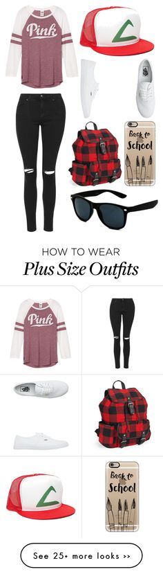 """Untitled #11633"" by aavagian on Polyvore featuring Topshop, Vans, Aéropostale and Casetify"