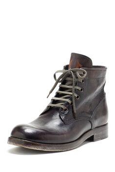 True Religion Xerxes Men Boot black leather