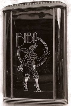 Window at Big Biba. Design: Steve Thomas