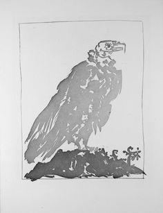 Picasso_Vulture.jpg (460×600) - sugar lift