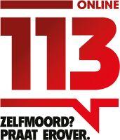 Denk je over zelfmoord? Praat of chat erover! www.113online.nl