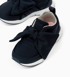 Image 2 of SNEAKERS WITH BOW from Zara