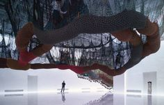22 Dreamy Art Installations You Want To Live In; Ernesto Neto's Woven Installations