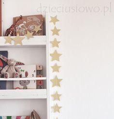 Girlanda gwiazdki – pokój dziecka