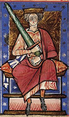(1277)Ethelred the Unready or Ethelred II (968-1016) He was king of England when in 1002 he ordered a massacre of Danish settlers. In 1003 King Sweyn of Denmark invaded and Ethelred fled. He returned in 1014 after the Sweyn died and became king once again.