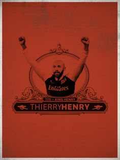I love Arsenal. I love Ireland. Thierry Henri ... I can't love you.