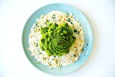 Romanesco, Mandel-Dill-Sauce, besser essen, Gemüse kochen