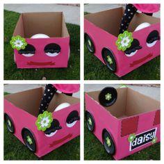 Drive In Cardboard Car!