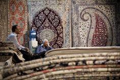 22esima edizione della fiera internazionale del tappeto persiano fatto a mano, Tehran.