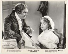 Frank Morgan and Jeanette MacDonald in Naughty Marietta, 1935 - ARM Collection. Frank Morgan, Jeanette Macdonald, Audrey Hepburn Style, Love Time, Opus, Old Movies, Musicals, Singer, Actors