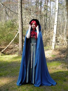The Wizardess' Cloak by TheodoreBlackwell on Etsy, $70.00