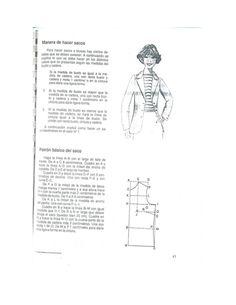 3-1'  Manera de hacer sacos  Para hacer sacos o blusas hay ciertos de- talles que se deben conocer.  A continuación se exp...
