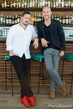 E.P. + L.P.'s  David Combes and Grant Smillie Talk Fashion and Food