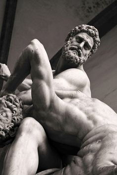 Hercules and the Centaur Nessus by Giambologna
