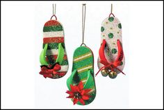 Gone to the Beach LoveSanta More Hawaiian Christmas Ornament Festive Slippers Red Christmas in July Custom Festive Flip Flops Something completely different from Happy Tr. Aussie Christmas, Australian Christmas, Summer Christmas, Christmas Diy, Christmas Vacation, Christmas In Florida, Christmas 2019, Half Christmas, Christmas Pickle