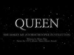 Queen - She Makes Me [Stormtrooper In Stilettos] (Official Lyric Video) - http://www.shoesgreat.com/hot-women-in-hot-shoes/queen-she-makes-me-stormtrooper-in-stilettos-official-lyric-video/