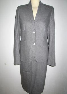 * * * ESCADA Kostüm hellgrau, Gr.42 * * * | eBay Blazer, Jackets, Ebay, Women, Fashion, Clothing Accessories, Fashion Women, Down Jackets, Moda