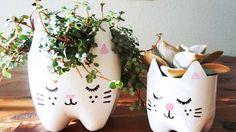 Macetas muy originales.... y a la vez cuida el planeta ♥
