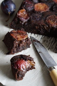 Carob and Plum Cake [AIP] by Healing Family Eats