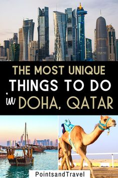 The Most EpicThings to do in Doha, Qatar. Take a look at the most unique and fun things to do when you visit Qatar and take a Doha city tour. You can get a good feel for Doha in a few days! Amazing Destinations, Travel Destinations, Travel Tips, Qatar Travel, Travel Around The World, Around The Worlds, Egypt Culture, Jordan Travel, Visit Egypt