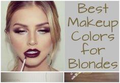 Best Makeup Colors for Blondes