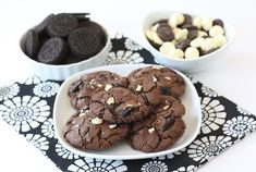 Triple Chocolate Oreo Chunk Cookies Recipe
