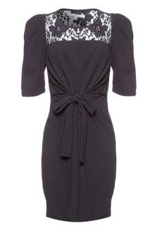 Tie Front Dress - Dresses - Outlet