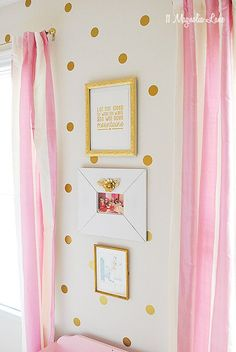 Gold & Pink boutique decor