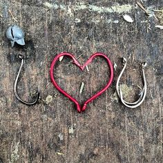 Say it with #fishing hooks!