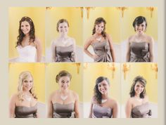 Candids! My beautiful bridesmaids and I on my wedding day!