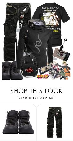 """""""NARUTO BOY"""" by pretty-zyha ❤ liked on Polyvore featuring Jimmy Choo, men's fashion and menswear"""