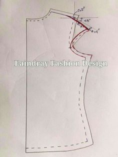 Elegant Photo of Custom Sewing Patterns Dress Sewing Patterns, Blouse Patterns, Clothing Patterns, Sewing Lessons, Sewing Hacks, Sewing Tutorials, Pattern Cutting, Pattern Making, Costura Fashion