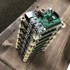 Raspberry pi cluster.