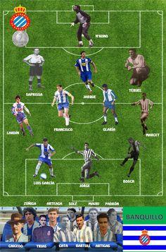 Rcd Espanyol, Sports Humor, Soccer Players, Spanish, Barcelona, Funny, Ideas, Art, Vintage Football