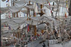 Altijd weer indrukwekkend die oude windjammers op Sail.