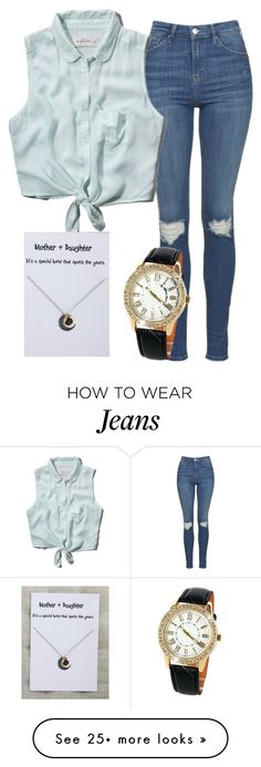 """""""Summer here we come"""" by myfriendshop on Polyvore featuring Topshop and Abercrombie & Fitch"""