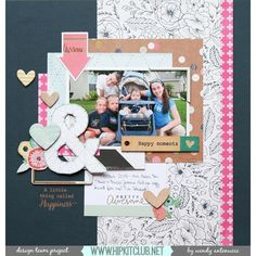 Wendy @wantenucci is up on our blog with this amazing LO using our March kits  @americancrafts @cratepaper @wermemorykeepers @websterspages @mymindseyeinc @shopfreckledfawn @ellesstudio @shop.evalicious @pinkfreshstudio