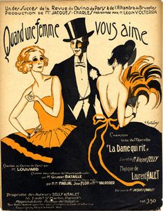 Quand une Femme vous Aime, 1922 (ill.: M. Montedoro); ref. 1689