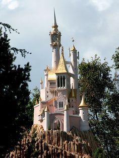 Cinderella's castle, Storybook Land attraction, Disneyland
