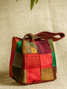 Best 11 Brocade Square Potli Bags with Coconut Shell Handle – The India Craft House Patchwork Cushion, Patchwork Bags, India Crafts, Potli Bags, Fabric Bags, Felt Fabric, Fabric Handbags, Fabric Basket, Denim Bag