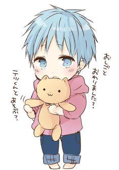 Kuroko no Basuke Anime Chibi, Yandere Manga, Chibi Boy, Kawaii Chibi, Kawaii Cute, Kawaii Anime, Kuroko No Basket, Bebe Anime, Anime Dad