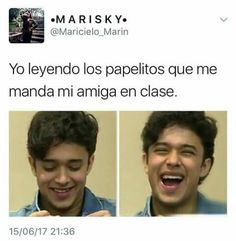 Read memes y fotos from the story Imágenes y Memes de CNCO by (Vale Dominguez) with 14 reads. Memes Cnco, Funny Memes, Hilarious, School Fun, Perfect Man, Fan, Boy Bands, Mood, Thoughts