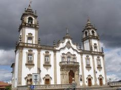 Church in the city of Viseu, north center of Portugal